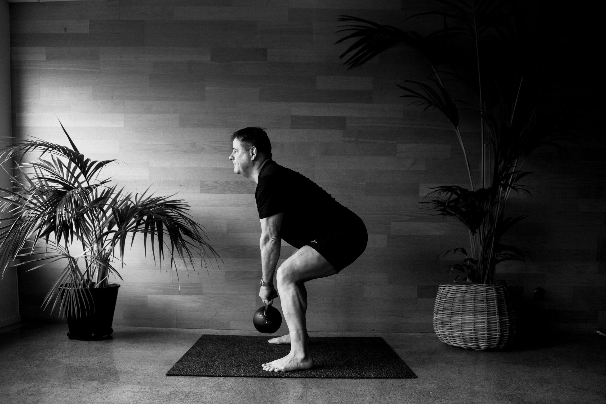Personlig träning med kettlebell